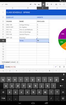 Google Sheets v1.7.352.05