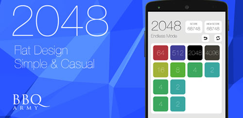 2048 Flat Design Simple&Casual v2.19
