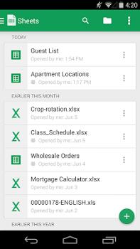 Google Sheets v1.18.232.03