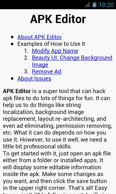 APK Editor Pro v1.8.13