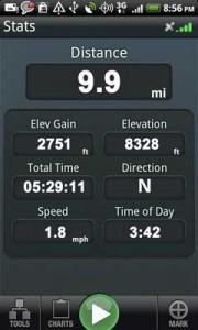 Backpacker GPS Trails Pro25