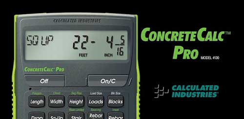 ConcreteCalc Pro for Concrete v1.0.6