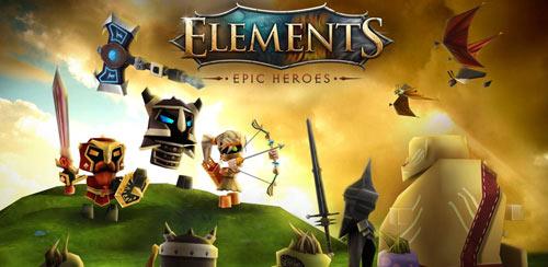 دانلود بازی Elements: Epic Heroes v1.0.1 + data برای اندروید