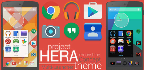 Project Hera Launcher Theme v1.10