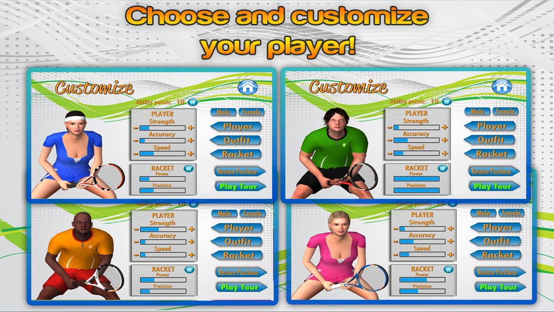 First Person Tennis World Tour v2.6 + data