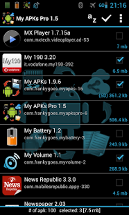 My APKs Pro backup manage apps v2.1