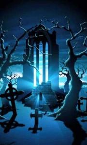 Mystic Cemetery Live Wallpaper 1