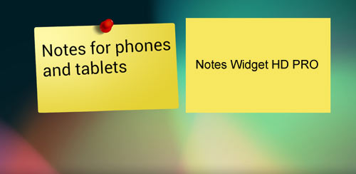 Notes Widget HD PRO – Stickies v2.1.4