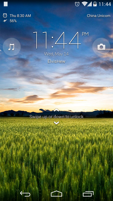 Xperia Z Lockscreen v1.3.0