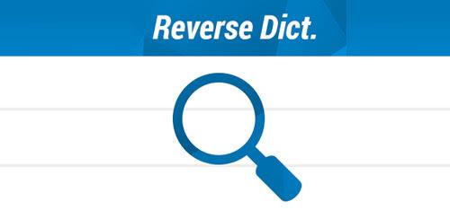 Reverse Dictionary v1.06