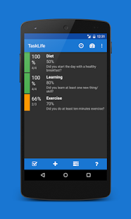 TaskLife Performance Tracker v20.1