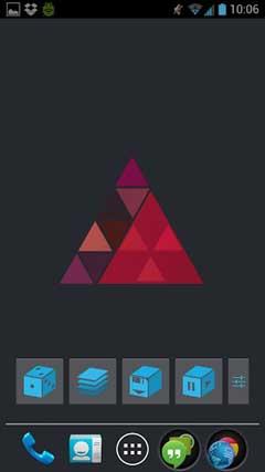 Trianglism Live Wallpaper v1.01