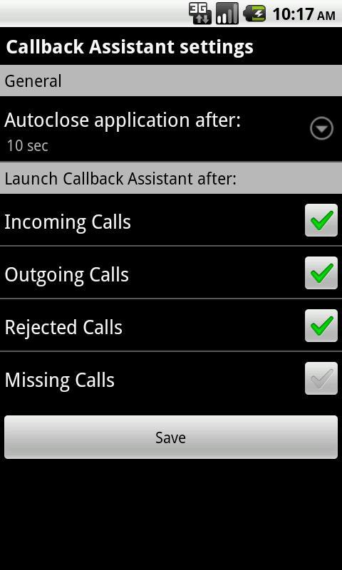 Call Reminder v4.0