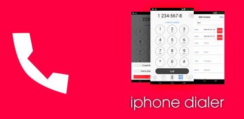 iPhone-Dialer
