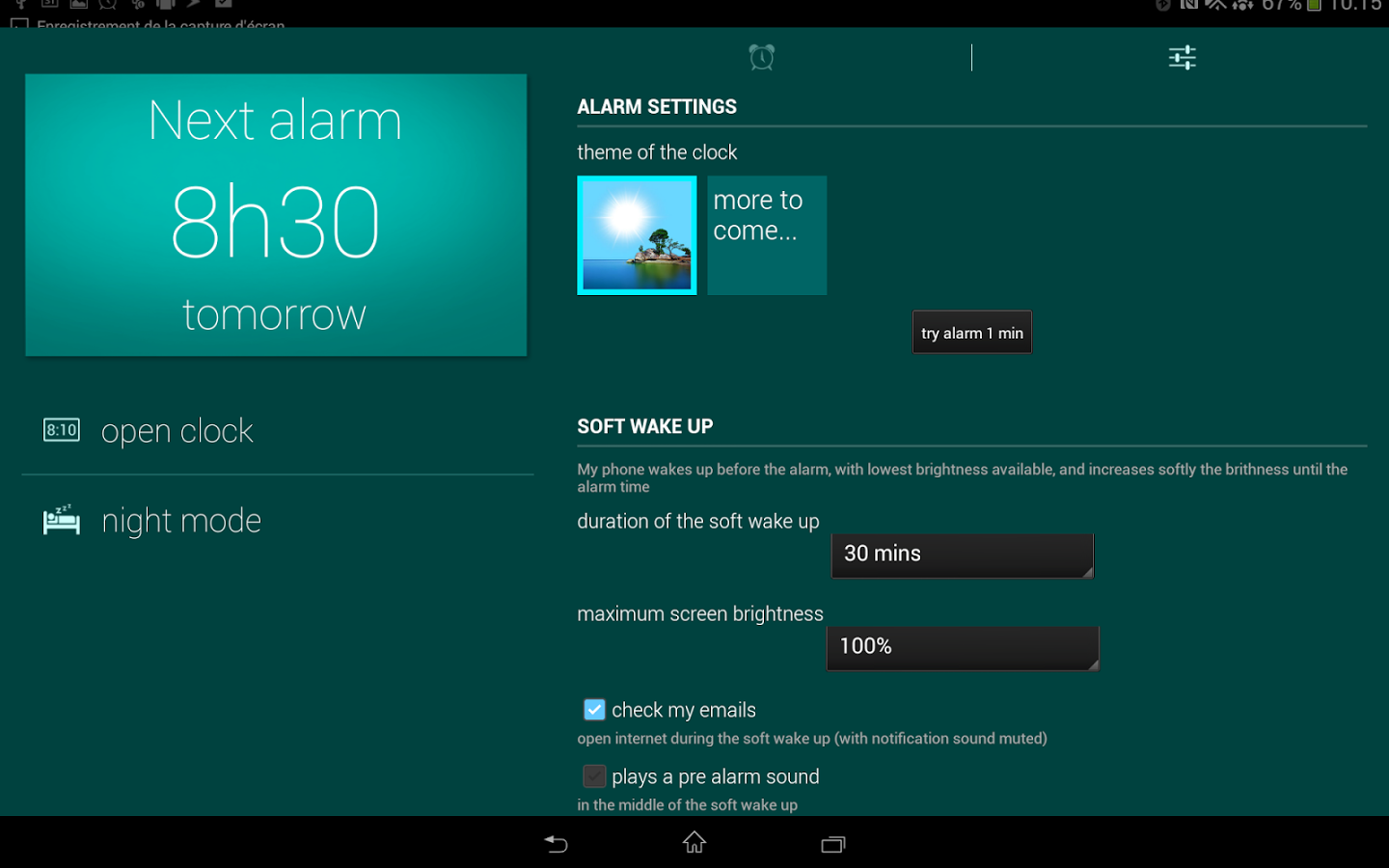 Glimmer (luminous alarm clock) Premium v2.0.31
