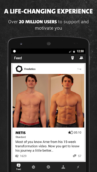 Freeletics: Personal Fitness Coach & Body Workouts v5.8.1