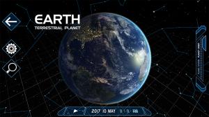 تصویر محیط Solar System Scope v3.2.1