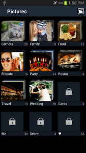 تصویر محیط Secure Gallery Premium (Pic/Video Lock) v3.5.2