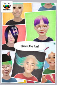 تصویر محیط Toca Hair Salon Me v1.0