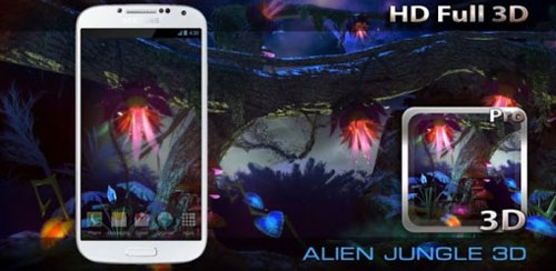 Alien-Jungle-3D-Live-Wallpaper