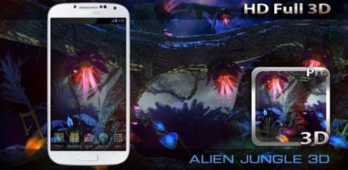 Alien Jungle 3D Live Wallpaper v1.0
