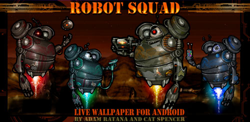 Robot-Squad-Live-Wallpaper