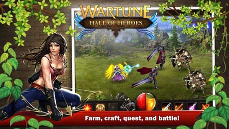 Wartune: Hall of Heroes v1.0.0