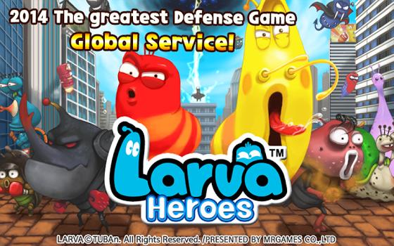 Larva Heroes: Lavengers 2017 v1.8.7