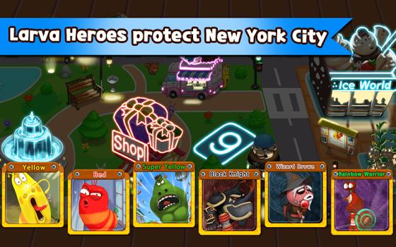 Larva Heroes: Lavengers 2014 v1.6.4
