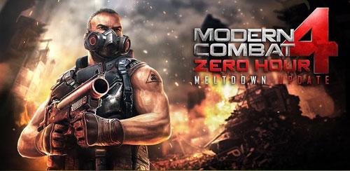 Modern Combat 4: Zero Hour v1.1.6 + data