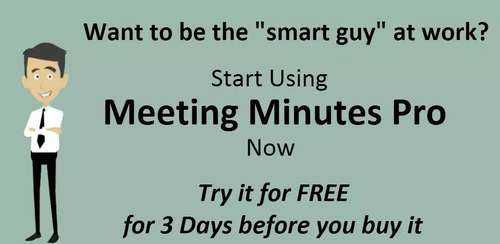 Meeting Minutes Pro v36
