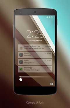 Android L LockScreen v2.0