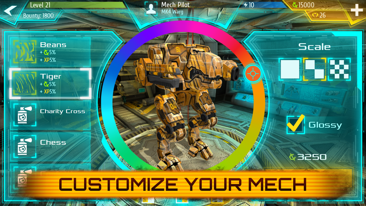Battle Mechs v0.5.589 – Unlimited