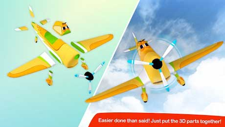 Build & Play 3D Planes Edition v2.0 + data