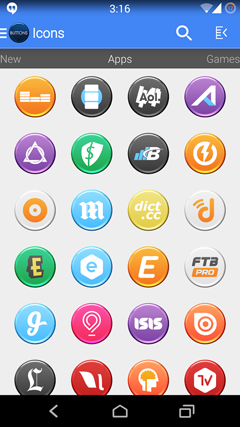 Buttons – Icon Pack v1.0