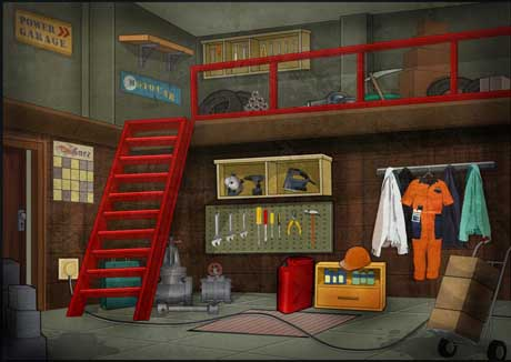 Escape Games Garage Escape v1.0