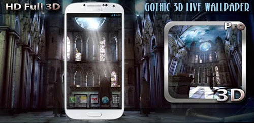 Gothic-3D-Live-Wallpaper