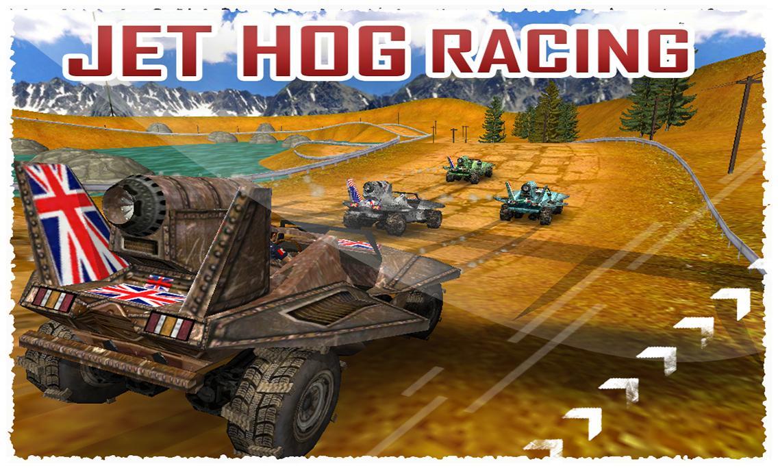 Jet Hog Racing ( 3D Game ) v1.0