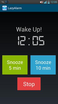 Lazy Alarm v1.0.2