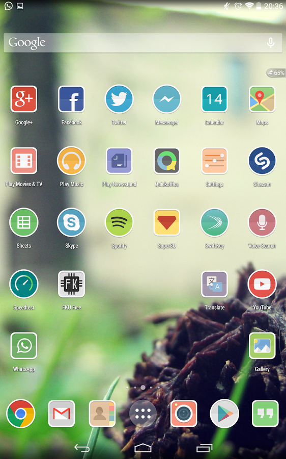 Numix Fold icon pack v1.0.8