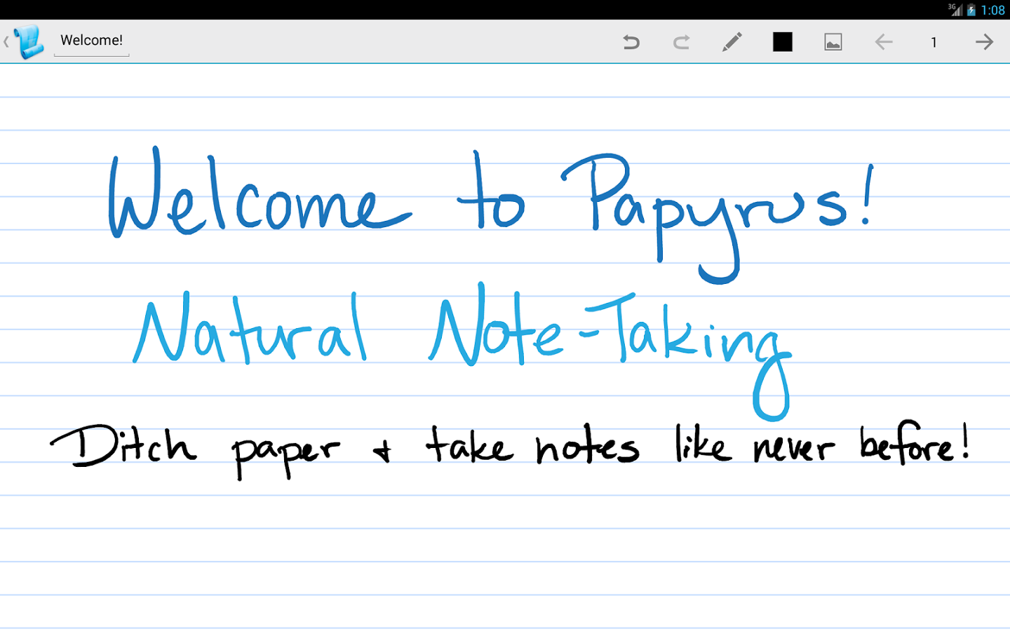Papyrus Premium – Natural Note Taking v2.0.0.0