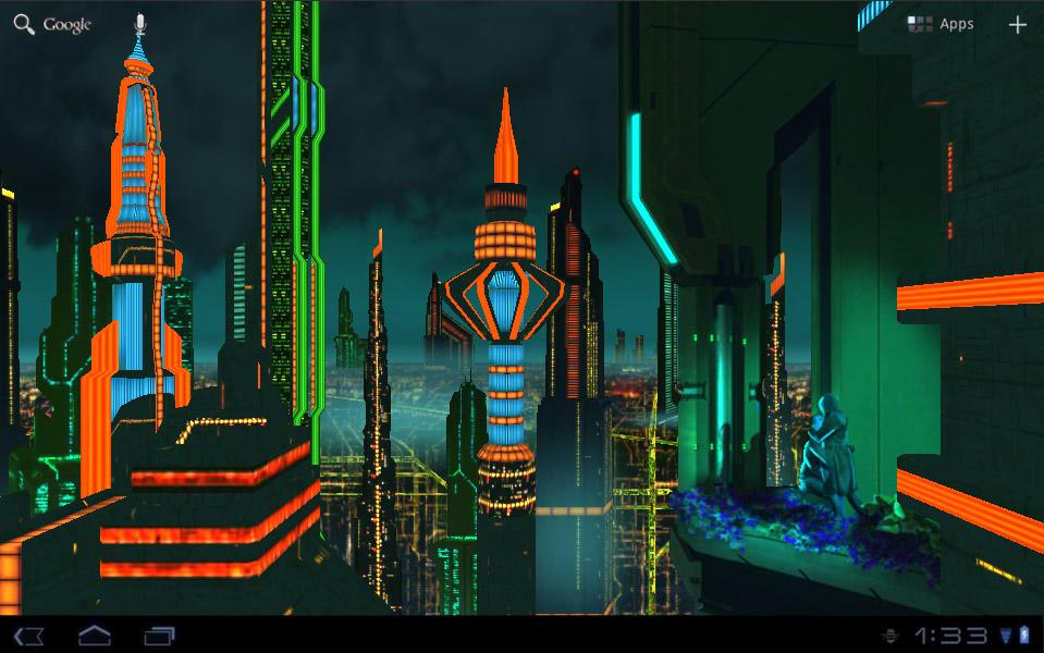 Space City Colony 3D LWP v1.5