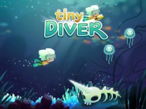 تصویر محیط Tiny Diver v1.4