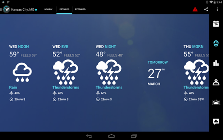 ۱Weather:Widget Forecast Radar v4.2.1