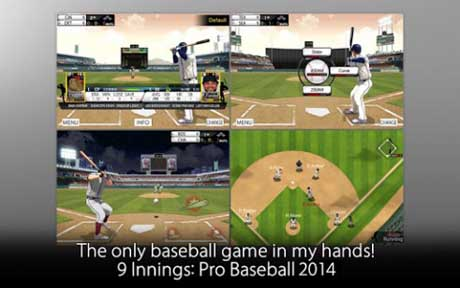۹ Innings: 2014 Pro Baseball v4.0.3 – Unlimited