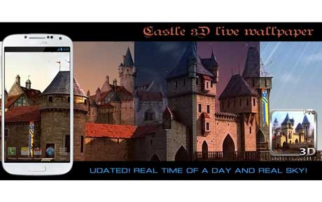 Castle 3D Pro live wallpaper v1.1