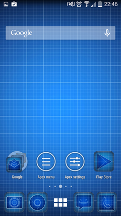 Droid Blueprints GO Launcher v3.0.1