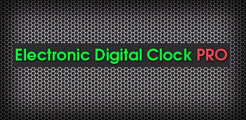 Electronic Digital Clock PRO v1.0.6