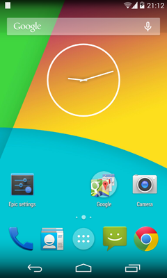 Epic Android L Launcher 1.2.3
