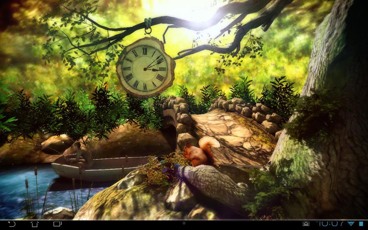 Fantasy Forest 3D Pro lwp v1.1
